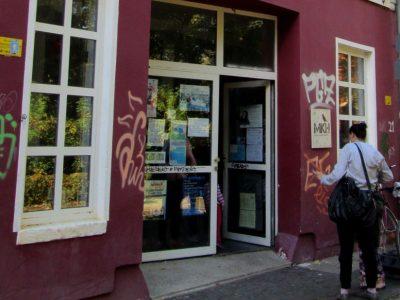 Eingang FemCafé