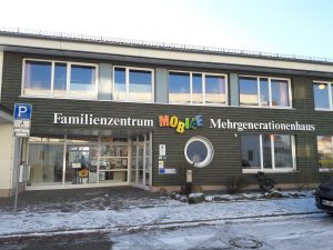 Eingang Familienzentrum MOBILE