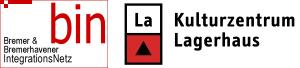 Logos BIN & Kulturzentrum Lagerhaus